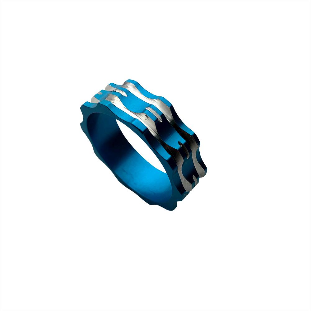 Espaçador Alum Azul 10mm