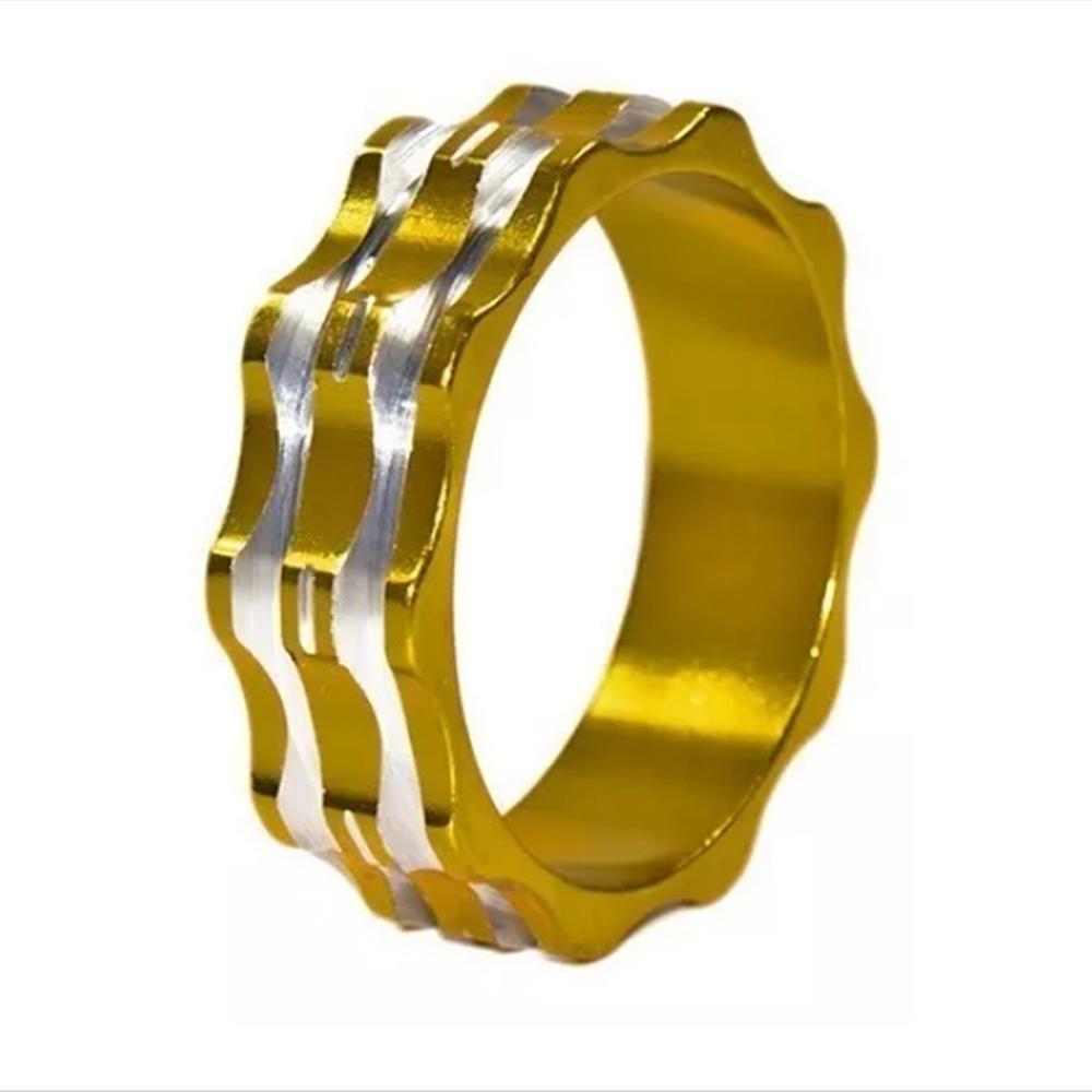 Espaçador De Alum Dourado 10mm