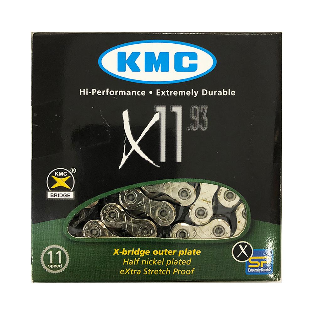 Corrente Kmc X-11 Prateada 11v 116 L